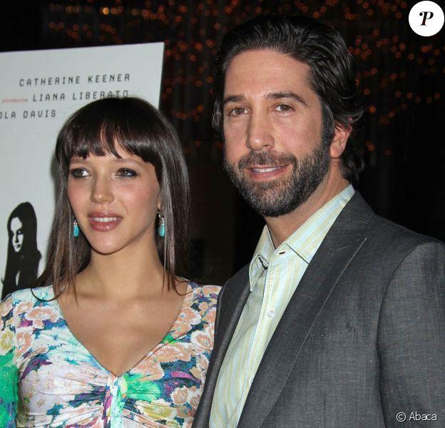 David Schwimmer et Zoe Buckman lors de l'avant-première de Trust, au DGA Theatre, à Los Angeles, le 21 mars 2011.
