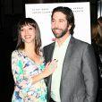 David Schwimmer et Zoe Buckman lors de l'avant-première de  Trust , au DGA Theatre, à Los Angeles, le 21 mars 2011.