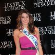 Première du film Les Yeux de sa mère. Miss France 2011 Laury Thilleman