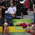 Laure Manaudou a profité de sa présence aux championnats de France 2011 à Strasbourg pour renager. Le 25 mars, elle a partagé une ligne d'eau avec son ex-boyfriend Benjamin Stasiulis, à côté d'un duo Marin/Pellegrini (photo) indifférent !