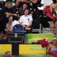 Laure Manaudou a profité de sa présence aux championnats de France 2011 à Strasbourg pour renager en France. Le 25 mars, elle a partagé une ligne d'eau avec son ex-boyfriend Benjamin Stasiulis, à côté d'un duo Marin/Pellegrini indifférent !