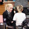 Gwen Stefani, son mari Gavin Rossdale et leurs fils Zuma et kingston à Los Angeles le 26 mars 2011