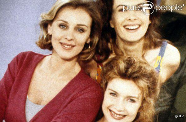 Cécile Auclert, Christiane Jean et  Hélène Le Moignic dans Les Filles d'à côté