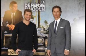 Ryan Phillippe et Matthew McConaughey, deux garçons très maquillés à Paris !