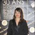Marie Gillain à la remise des prix Patrick-Dewaere et Romy Schneider, au Bon Marché, le 4 avril 2011, à Paris.