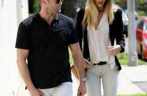Jason Statham : Avec la belle Rosie Huntington-Whiteley...  tout est bien là !