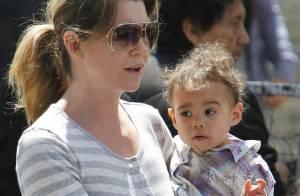 Ellen Pompeo : Sa petite Stella est une adorable gourmande !