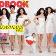La famille Kardashian au complet sur la couverture de Redbok magazine