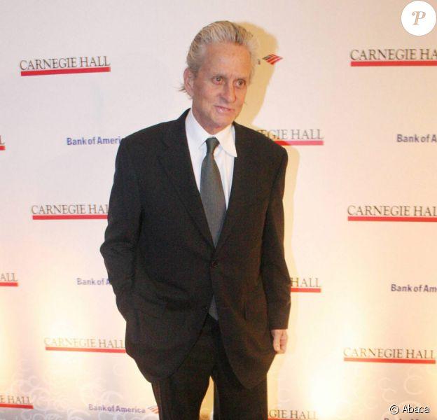 Michael Douglas lors de la soirée du 120e anniversaire du Carnegie Hall à New York le 12 avril 2011