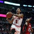 La star des Chicago Bulls Derrick Rose participera aux playoffs 2011 de la NBA