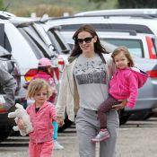 Jennifer Garner : La reine des salades avec ses filles croqueuses de haricots !