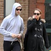 Natalie Portman vit une grossesse au chaud pendant que son fiancé s'empâte !