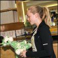 Amanda Seyfriend se rend au magasin Fred Segal à l'occasion de la 1ère Greenzy, un événement annuel à l'occasion de la Journée mondiale de protection de la planète, samedi 23 avril à Los Angeles.
