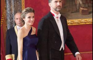 Letizia d'Espagne : Radieuse face à la Sheikha Mozah, mais tellement maigre !