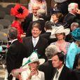 Les 1 900 convives invités à assister au mariage du prince William et de Catherine Middleton le 29 avril 2011 ont pris place à Westminster dans les premières heures de la matinée.