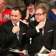 Les 1 900 convives invités à assister au mariage du prince William et de Catherine Middleton le 29 avril 2011, dont Sir Elton John et David Furnish, ont pris place à Westminster dans les premières heures de la matinée.