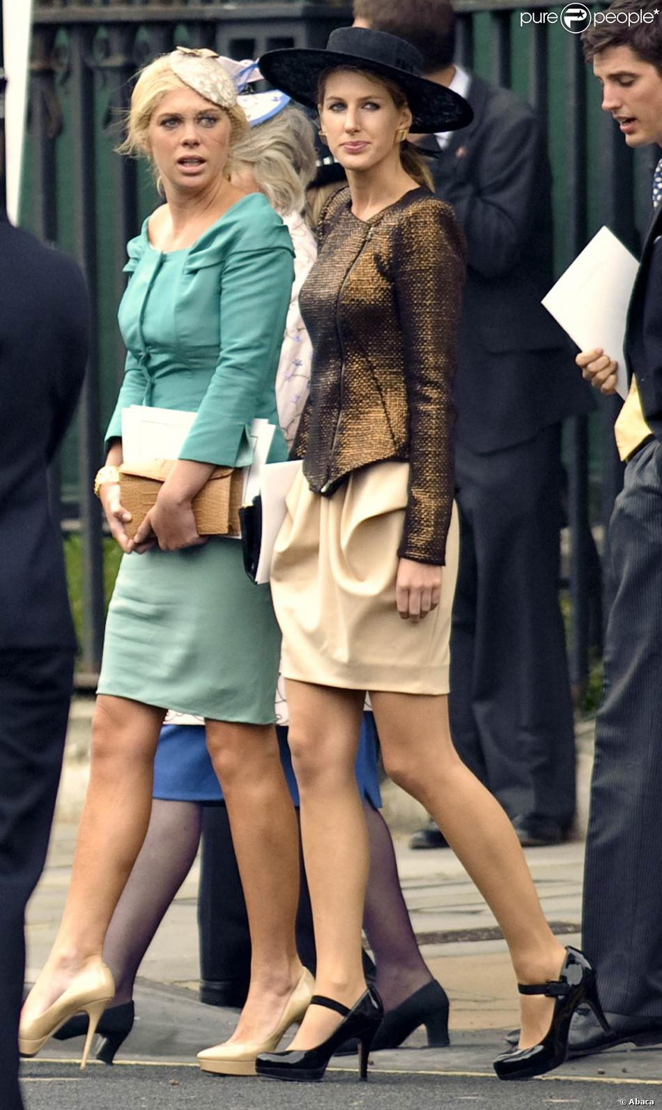 Chelsy Davy au mariage du prince William et de Catherine Middleton le 29  avril 2011.