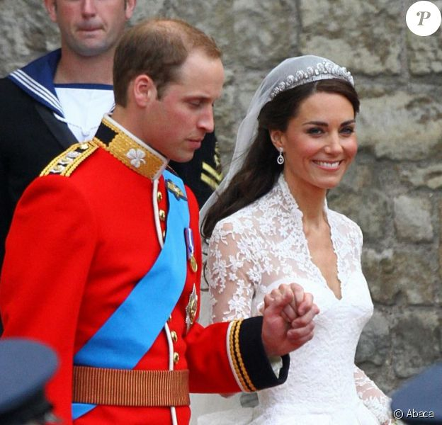 Kate Middleton et le prince William viennent de se dire oui. Londres, 29 avril 2011