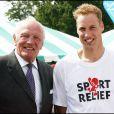 Henry Cooper et le Prince William d'Angleterre en 2006