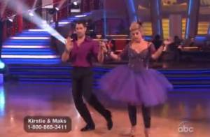 Dancing With The Stars : Kirstie Alley, en tutu, s'est mise au rock'n'roll !
