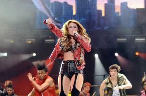 Miley Cyrus, victime d'une