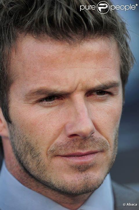 David Beckham lors de la Coupe du monde de football en juin 2010 en Afrique du Sud