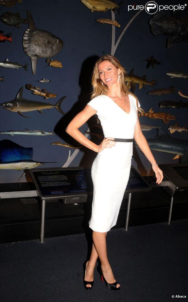 Gisele Bündchen le 10 mai à New York pour la soirée Champions of the Earth Awards.