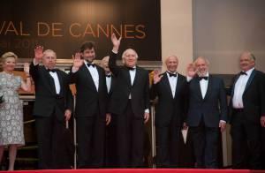 Cannes 2011 : Le Pape Michel Piccoli et Nanni Moretti sur les marches !