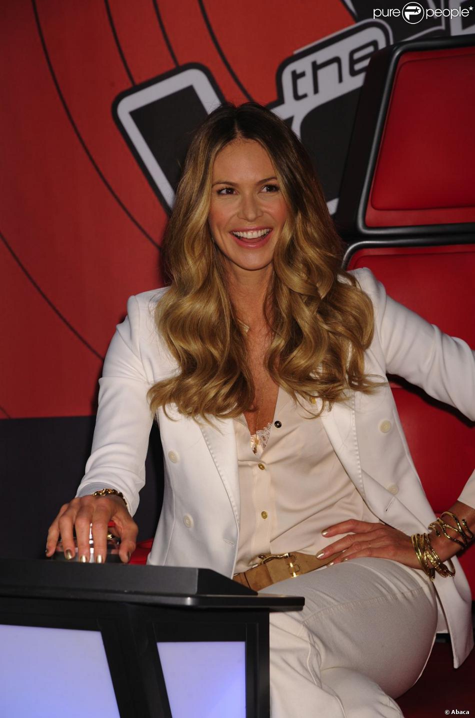 Le top model australien Elle Macpherson. Le 16 mai à l'Hotel Hilton de New York, toute la ...