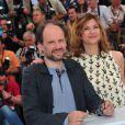 """""""Denis Podalydès et Florence Pernel lors du photocall du film La Conquête au festival de Cannes le 18 mai 2011"""""""