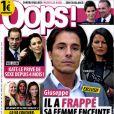 Giuseppe et son ex compagne Khadija en couverture de Oops