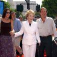 Patti Davis et sa mère Nancy Reagan, à Los Angeles, le 14 juillet 2002.