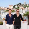 Ryan Gosling et Nicolas Winding Refn lors du photocall du film Drive au festival de Cannes le 20 mai 2011