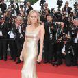 Diane Kruger a brillé sur le tapis rouge du 64ème Festival de Cannes. 13 mai 2011