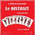 Alexandre Kouchner est à l'affiche de la pièce Le Distrait, à Paris, en mai 2011.