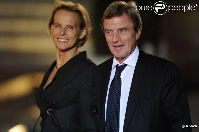 Bernard Kouchner et Christine Ockrent en novembre 2010, à L'Élysée.