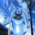 Maïwenn en diva bleue dans Le Cinquième Elément de Luc Besson