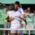 Novak Djokovic et Bob Sinclar ont fait équipe aux platines et sur le court ! Samedi 21 mai 2011, chaude ambiance à la Porte d'Auteuil, pour l'ouverture des Internationaux de France de Roland-Garros !