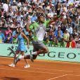 Samedi 21 mai 2011, chaude ambiance à la Porte d'Auteuil, pour l'ouverture des Internationaux de France de Roland-Garros !