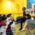 Felicity Huffman et son mari William H. Macy lors de la soirée annuelle Got Milk? and Scholastic Parent and Child Magazine Family of the Year à Los Angeles, le 23 mai 2011. Les acteurs ont fait la lecture aux enfants.
