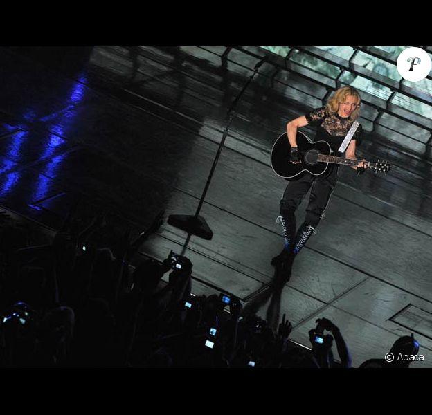 Madonna en showcase à l'Olympia, le 6/05/08