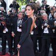 Ximena Navarrete, Miss Univers 2010, a ébloui le Festival de Cannes dans sa robe sexy et fendue. Cannes, 21 mai 2011