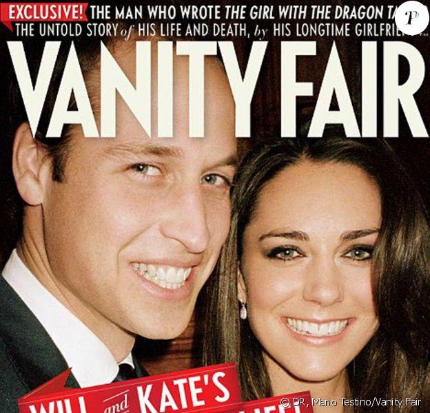 Le prince William et sa femme Catherine, duchesse de Cambridge, respiraient le bonheur au moment de l'annonce de leurs fiançailles, en novembre 2010. Mario Testino avait immortalisé leur joie au Palais Saint-James, et un nouveau cliché surgit en couverture de Vanity Fair, juillet 2011.