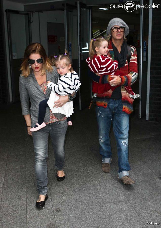 Lisa Marie Presley with cool, Husband Michael Lockwood