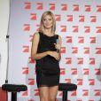 Heidi Klum anime l'émission de télé réalité  Germany's Next Top Models  qui recherche LE plus beau mannequin allemand. Cologne, 7 juin 2011