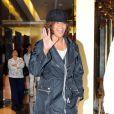 Whitney Houston à la sortie d'un centre médical, à Los Angeles, en février 2011.