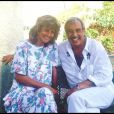 Franck Fernandel et son épouse Corinne Delahaye en 1987.