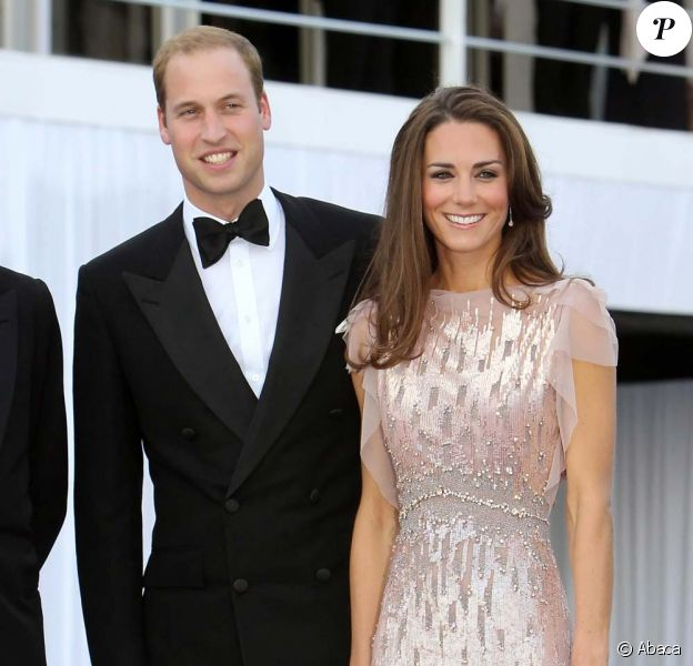 Le Prince William et Kate Middleton à la soirée de bienfaisance en l'honneur de l'association ARK, à Kensington Palace, à Londres, le 9 juin 2011.