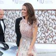 Kate Middleton à la soirée de bienfaisance en l'honneur de l'association ARK, à Kensington Palace, à Londres, le 9 juin 2011.