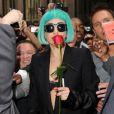 Lady Gaga à New York, en juin 2011.